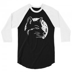 wolf moon 3/4 Sleeve Shirt | Artistshot