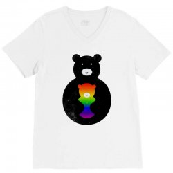hugs bear V-Neck Tee | Artistshot