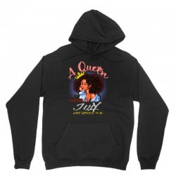 a queen was born in july Unisex Hoodie | Artistshot