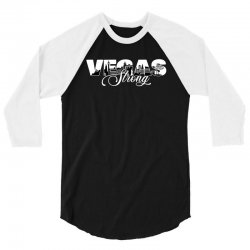 vegas strong for dark 3/4 Sleeve Shirt | Artistshot