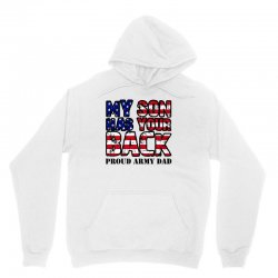 my son has your back for light Unisex Hoodie   Artistshot