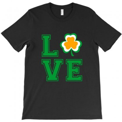 Love Saint Patrick Day T-shirt Designed By Sengul