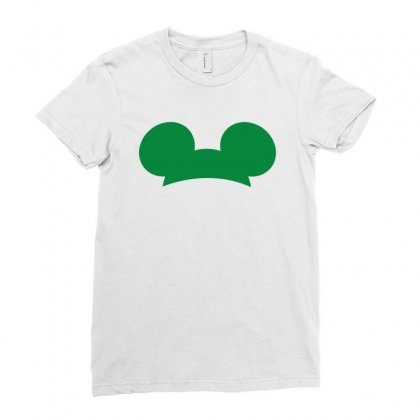 Mickey Mouse St Patrick Day Ladies Fitted T-shirt Designed By Sengul
