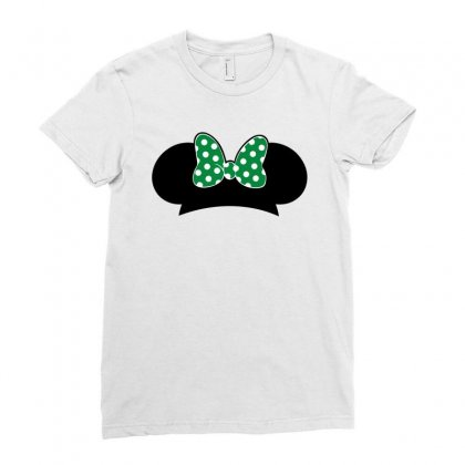 Minnie Mouse St Patrick Day Ladies Fitted T-shirt Designed By Sengul