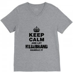 hildebrand for light V-Neck Tee | Artistshot