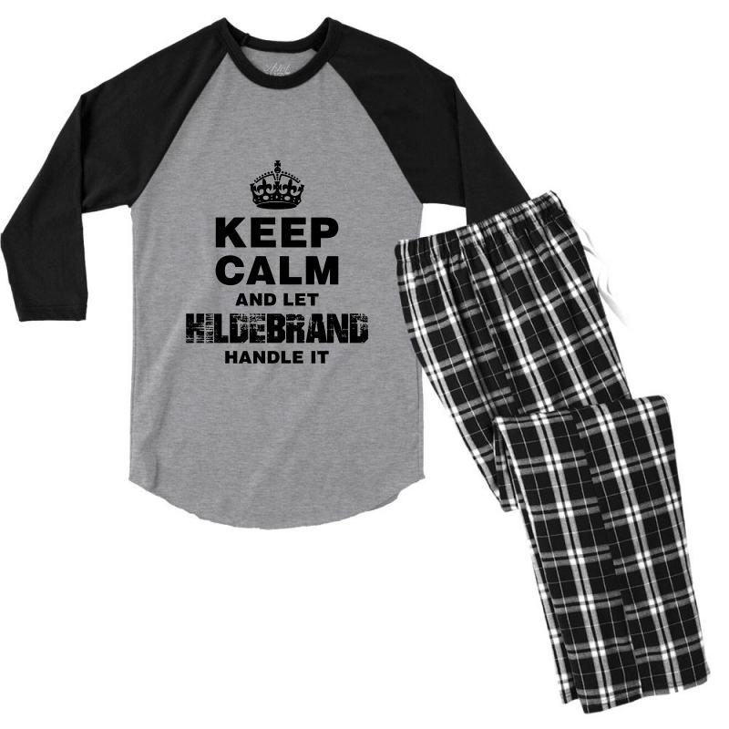 Hildebrand For Light Men's 3/4 Sleeve Pajama Set | Artistshot