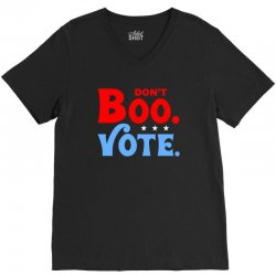 don't boo vote for dark V-Neck Tee | Artistshot