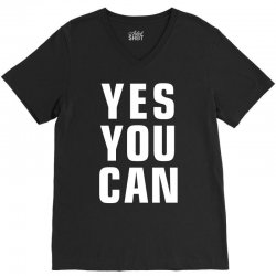 yes you can V-Neck Tee | Artistshot