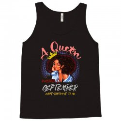 a queen was born in september Tank Top | Artistshot