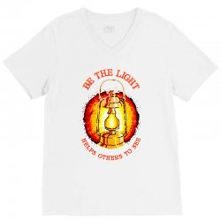 be the light V-Neck Tee | Artistshot