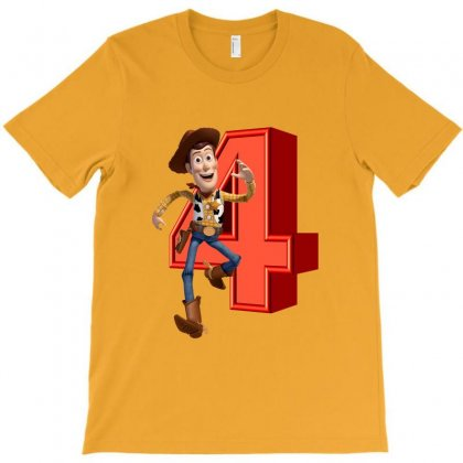 Sheriff Woody Toy Story 4 T-shirt Designed By Zeynepu