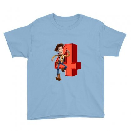 Sheriff Woody Toy Story 4 Youth Tee Designed By Zeynepu