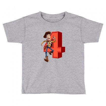 Sheriff Woody Toy Story 4 Toddler T-shirt Designed By Zeynepu