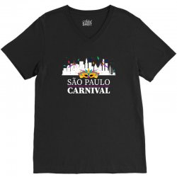 sao paulo carnival for dark V-Neck Tee | Artistshot