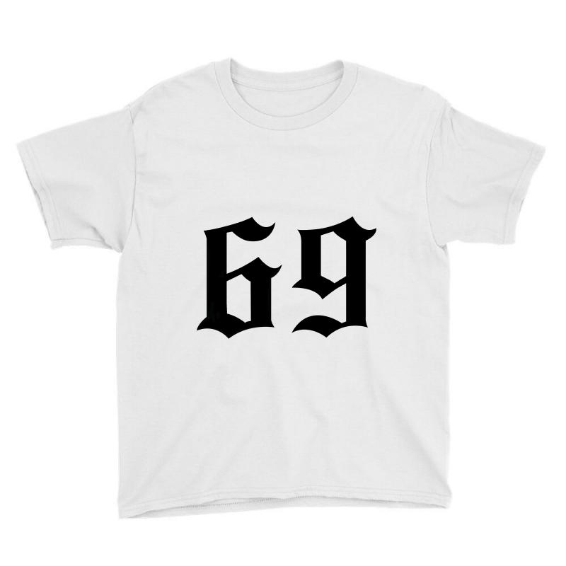 a467bf0e93fd6e Custom 6ix9ine Sixty Nine For Light Youth Tee By Sengul - Artistshot