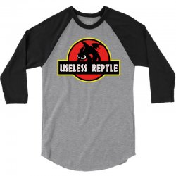 useless reptle 3/4 Sleeve Shirt | Artistshot