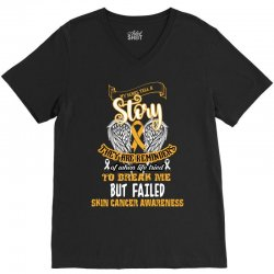 my scars tell a story they are reminders V-Neck Tee | Artistshot