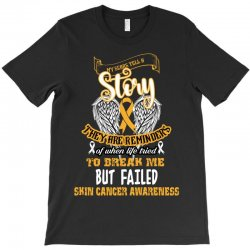 my scars tell a story they are reminders T-Shirt | Artistshot