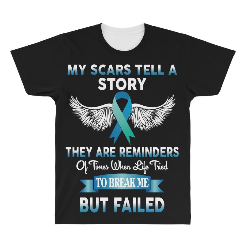 My Scars Tell A Story All Over Men's T-shirt | Artistshot