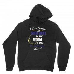i love someone with gastric cancer to the moon and back to infinity be Unisex Hoodie | Artistshot