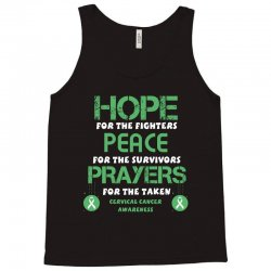 hope for the fighters peace for the survivors prayers for the taken ce Tank Top | Artistshot