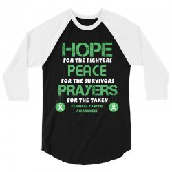 hope for the fighters peace for the survivors prayers for the taken ce 3/4 Sleeve Shirt | Artistshot