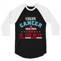 colon cancer 3/4 Sleeve Shirt | Artistshot