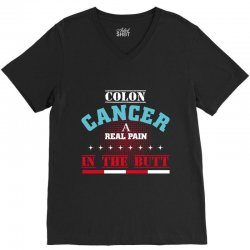colon cancer V-Neck Tee | Artistshot