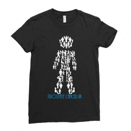 Prostate Cancer Uk Ladies Fitted T-shirt Designed By Wizarts