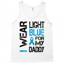 i wear light blue for my daddy Tank Top | Artistshot