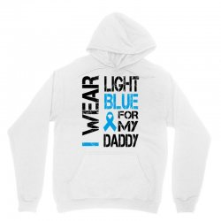 i wear light blue for my daddy Unisex Hoodie | Artistshot