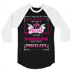 rich and famous breast survivor 3/4 Sleeve Shirt | Artistshot