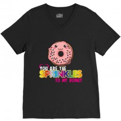 you are the sprinkles to my donut V-Neck Tee | Artistshot
