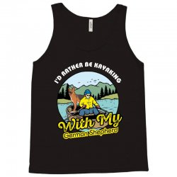 i'd rather be kayaking with my german shepherd Tank Top | Artistshot