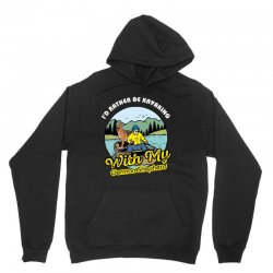 i'd rather be kayaking with my german shepherd Unisex Hoodie | Artistshot