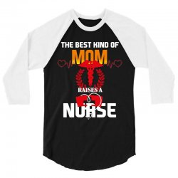 best mom nurse 3/4 Sleeve Shirt | Artistshot