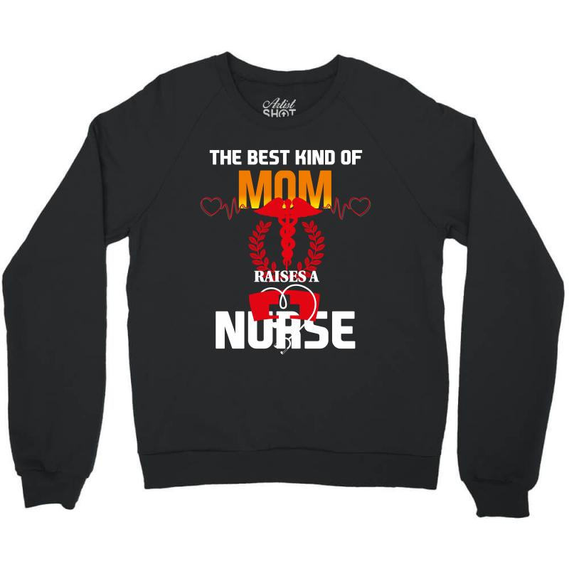 Best Mom Nurse Crewneck Sweatshirt | Artistshot
