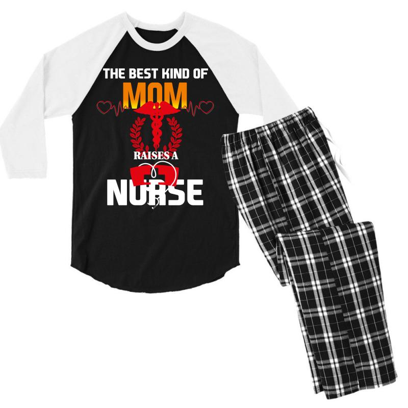 Best Mom Nurse Men's 3/4 Sleeve Pajama Set | Artistshot