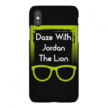 6664a09b4cd99e Custom Daze With Jordan The Lion Iphonex Case By Wizarts - Artistshot