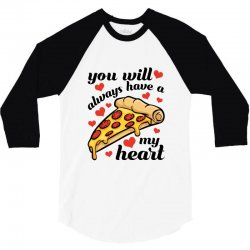 you will always have a my heart for light 3/4 Sleeve Shirt | Artistshot