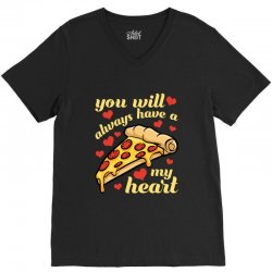you will always have a my heart for dark V-Neck Tee | Artistshot