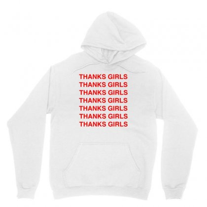 Thanks Girls Unisex Hoodie Designed By Hasret