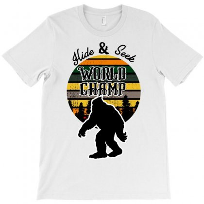 Hide And Seek World Champ T-shirt Designed By Wizarts