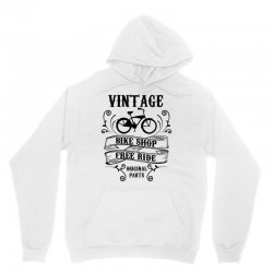 vintage bike shop free ride original parts Unisex Hoodie | Artistshot