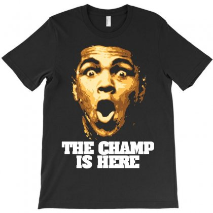 The Champ Is Here T-shirt Designed By Parashiel
