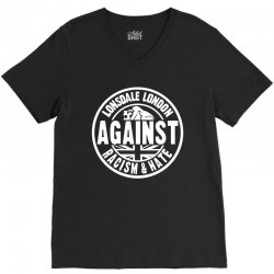 Lonsdale Racism And Hate V-Neck Tee | Artistshot