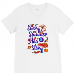 every summer has a story V-Neck Tee | Artistshot