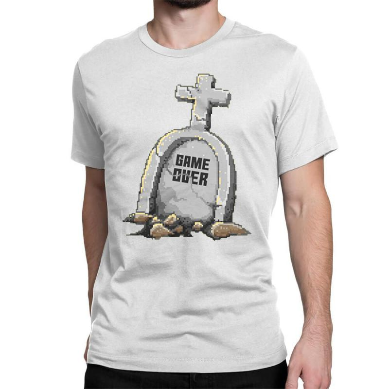 Game Over Classic T-shirt | Artistshot