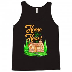 home is where your heart at Tank Top | Artistshot