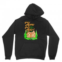home is where your heart at Unisex Hoodie | Artistshot